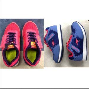 Bundle or Two Girls KangaRoos Shoes